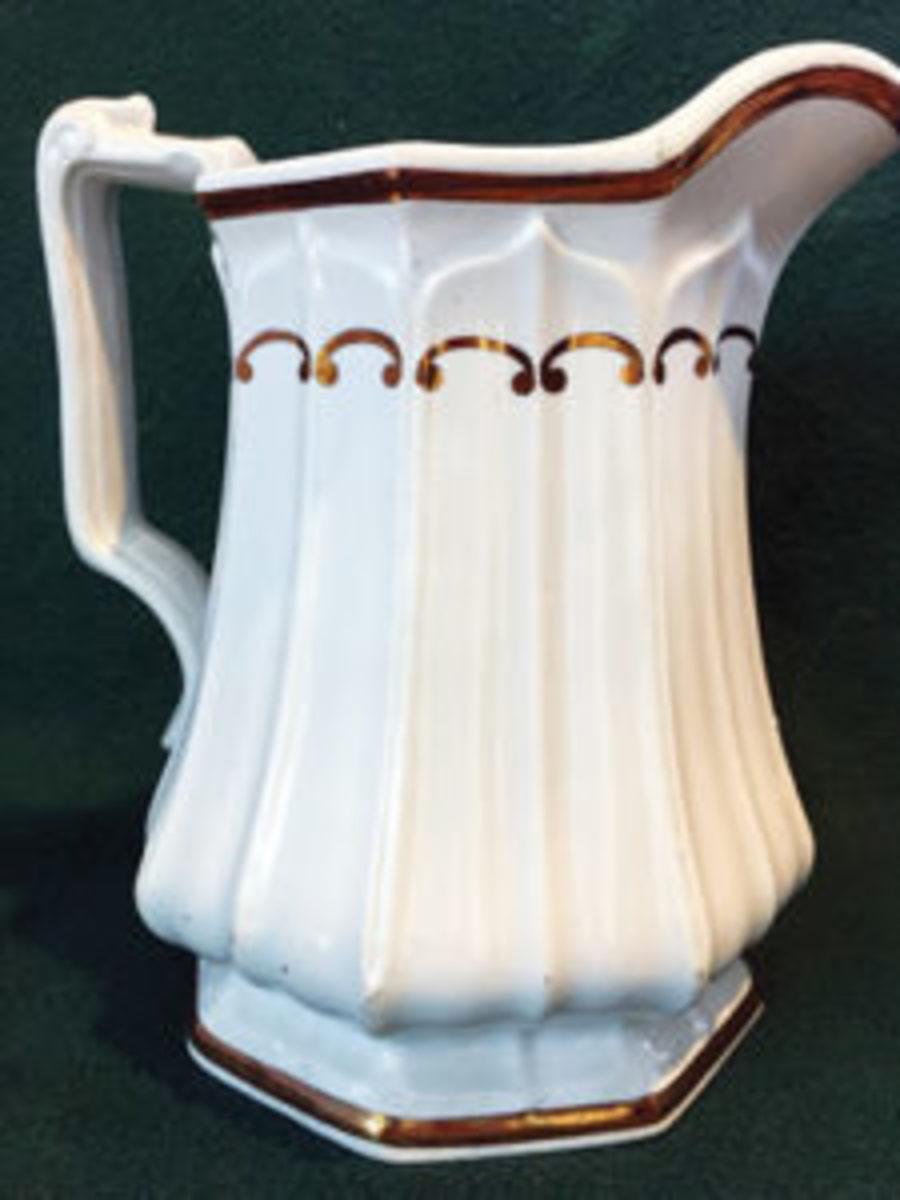 Edward Walley scallop jug