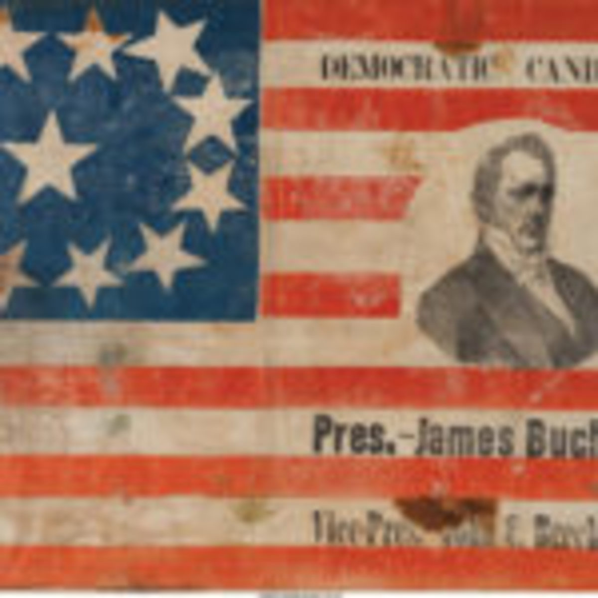 James Buchanan campaign banner