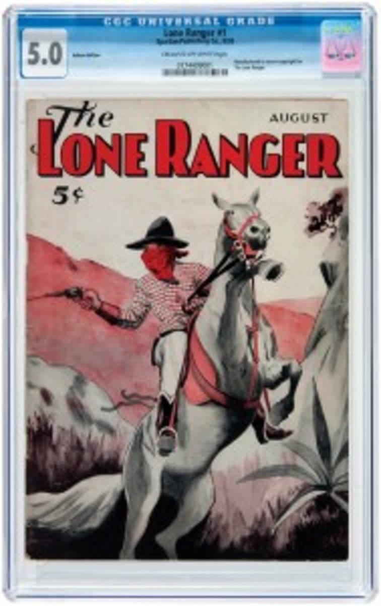 The Lone Ranger pulp magazine