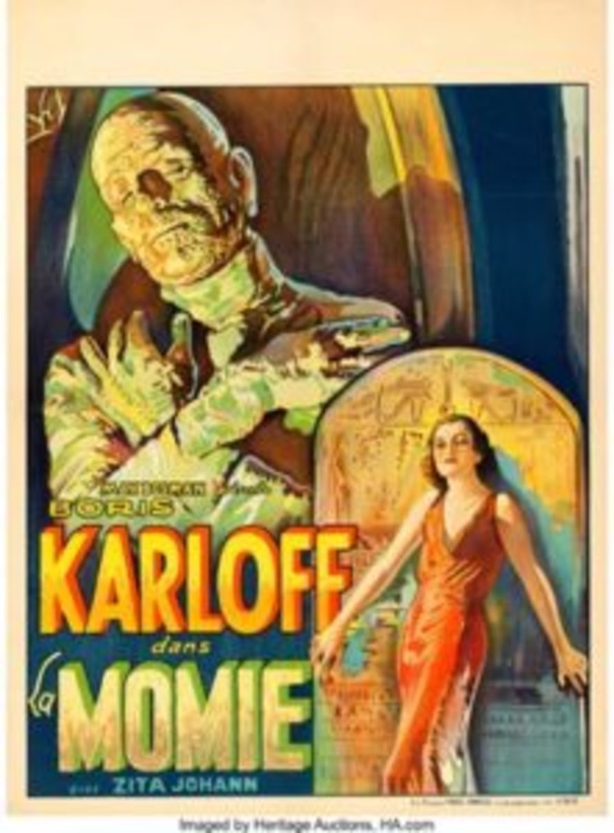 1933 The Mummy movie poster