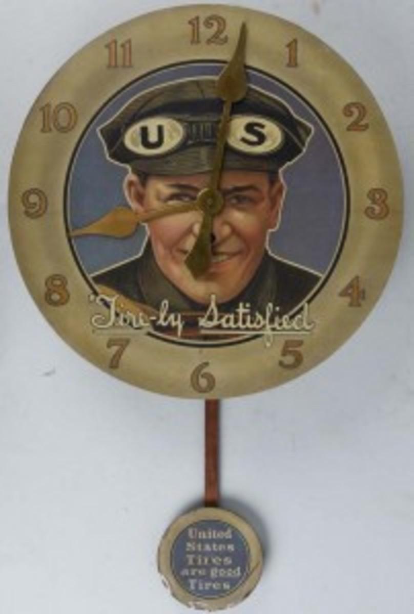 U.S. Tires clock