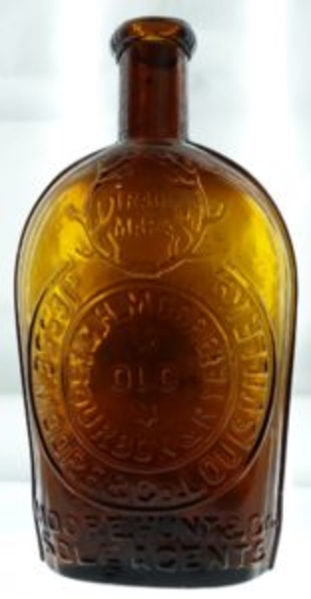 Jessie Moore whiskey flask