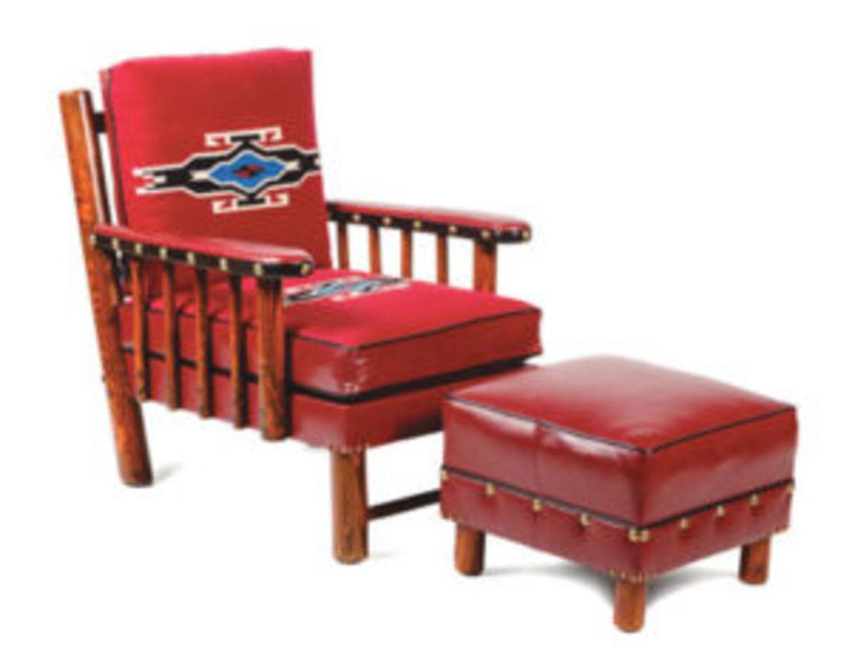 Thomas C. Molesworth (American, 1890-1977) spindle sided club chair