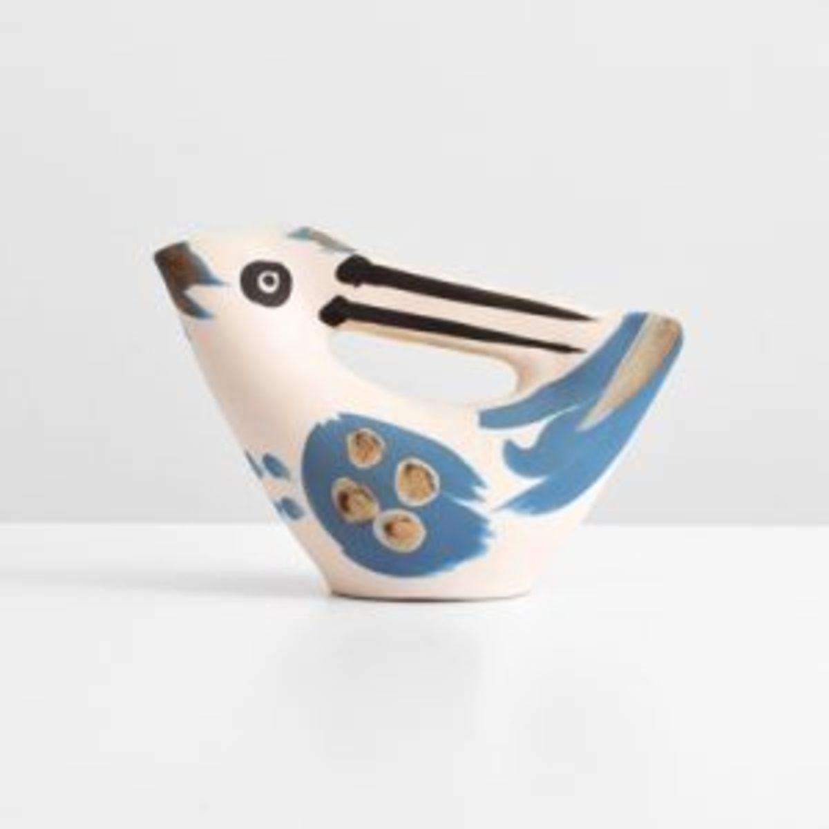 Picasso bird-form pitcher