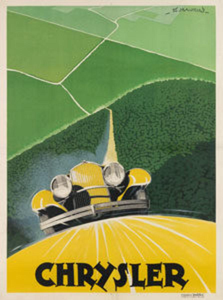 Edmond Maurus, Chrysler, circa 1930s, sold for a record $13,750.