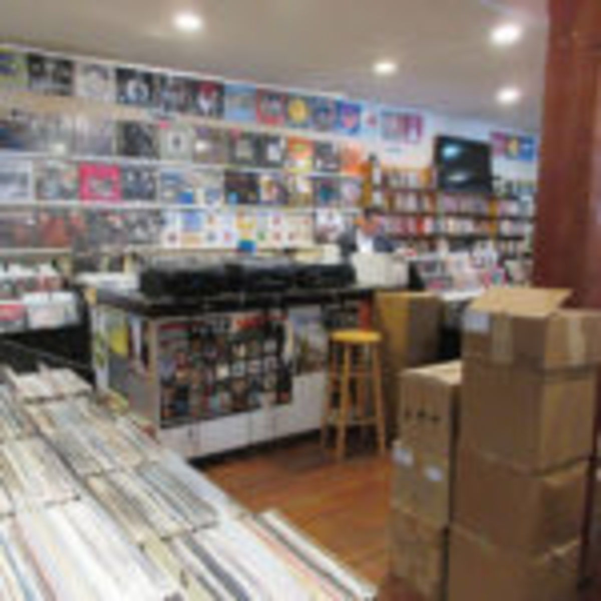 Louisiana Music Factory record store, Frenchmen Street, Wikipedia Source: https://commons.wikimedia.org/wiki/File:LA_Music_Factory_Feb2016_4.jpg. This file is licensed under theCreative Commons Attribution 2.0 Genericlicense.