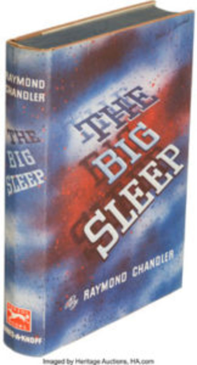 Raymond Chandler. The Big Sleep. New York: Alfred A. Knopf, 1939. First edition, signed by the author on the front free endpaper with note, $57,500.