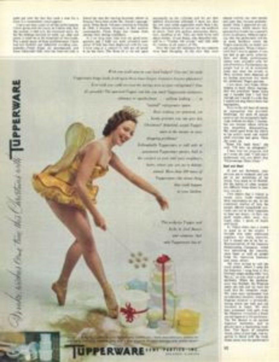 Vintage Tupperware magazine ad
