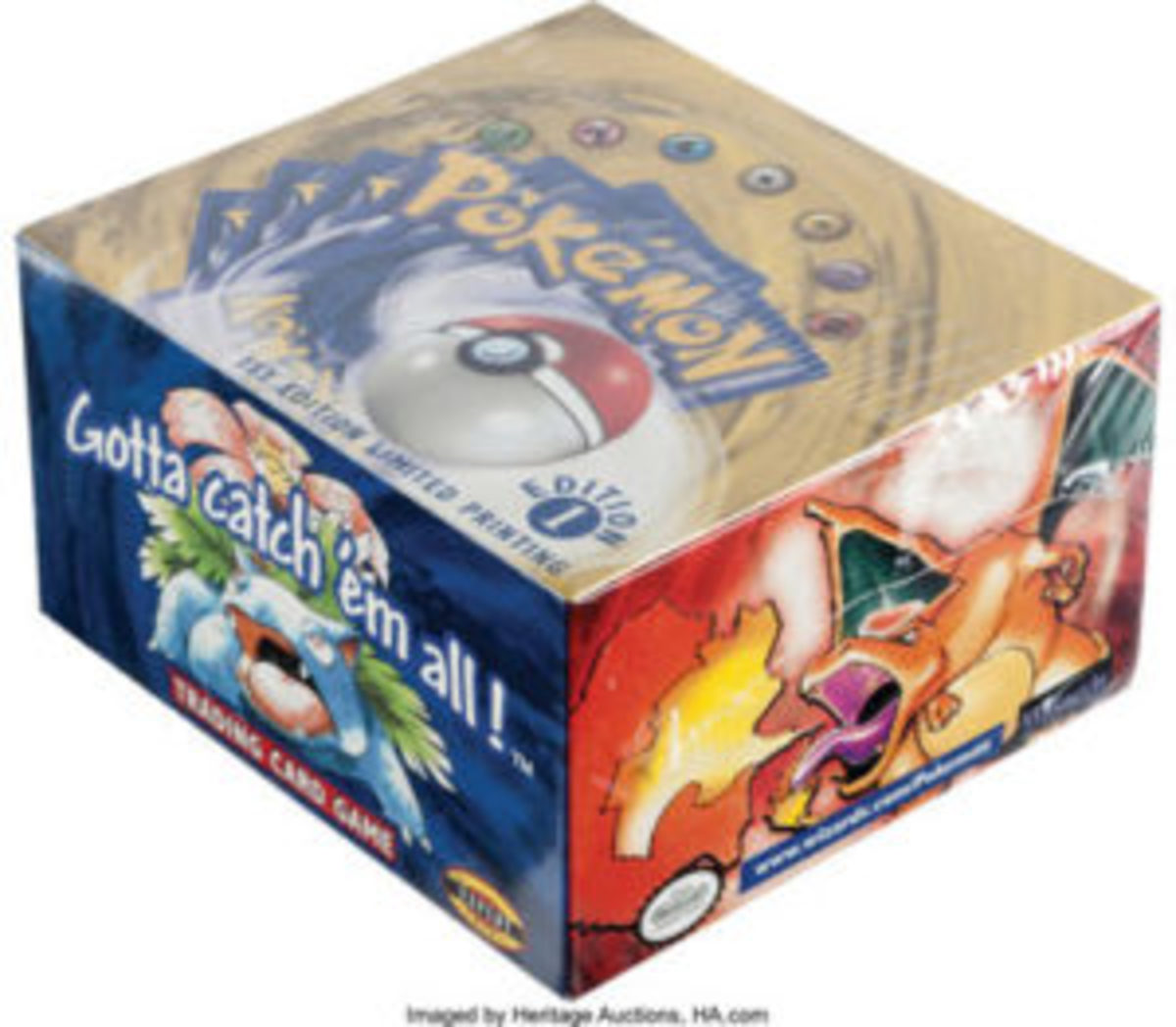 Pokemon First Edition Base Set Sealed Booster Box, $78,000.