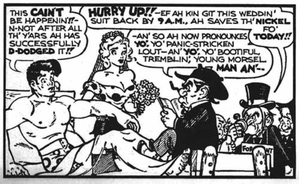 Li'l Abner romantic comic strip