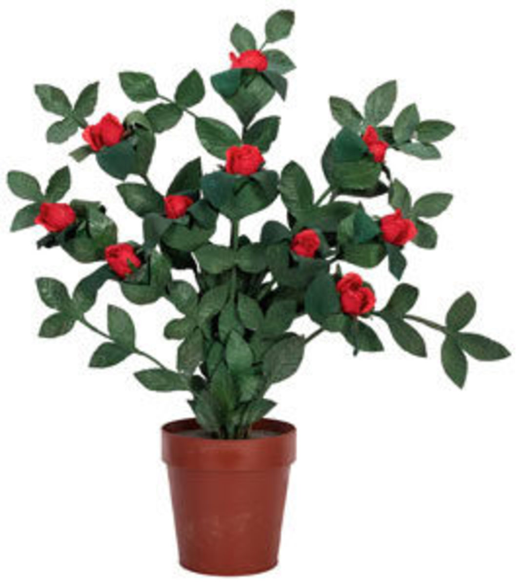 Edgar Bergen's c. 1939 Flowering Rose Bush, made by Petrie and Lewis of New Haven, CT, was estimated at $5,000-7,000 and blossomed to $8,400.