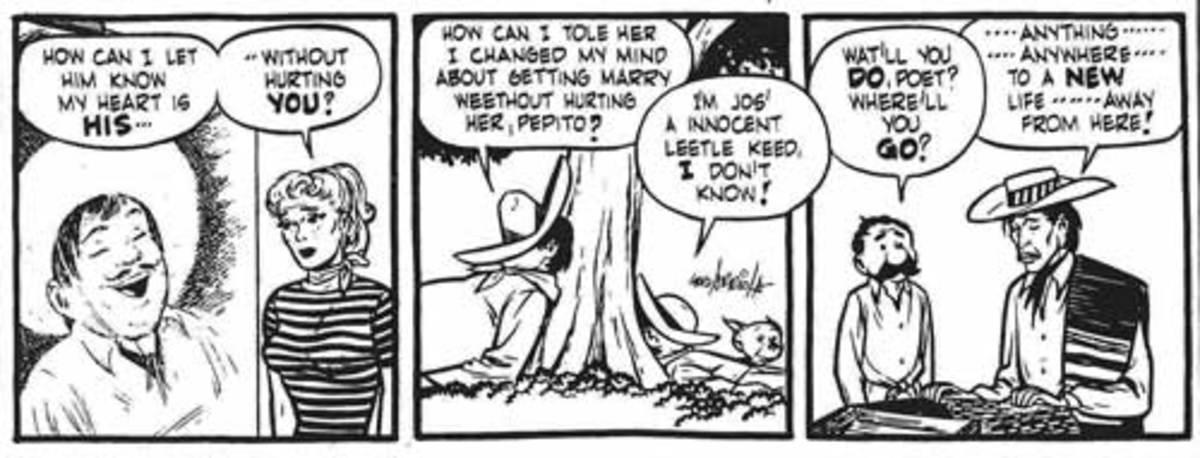 Gordo romantic comic strip