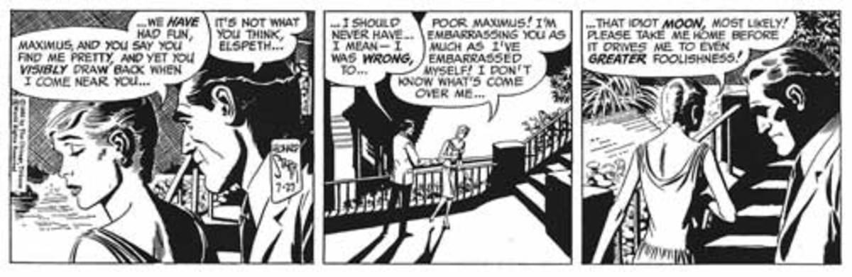 Maximus comic strip 1965