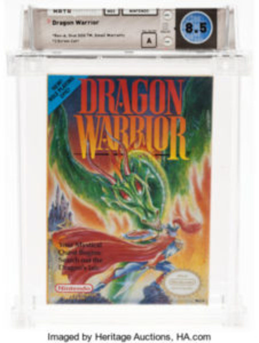 Dragon Warrior (NES, Nintendo, 1989)