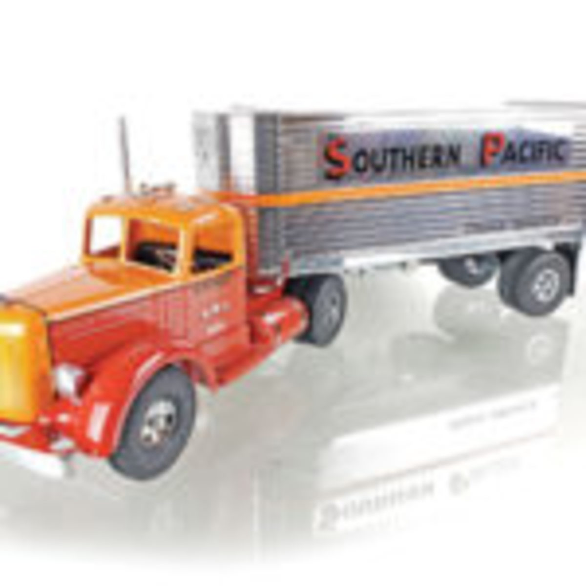 Southern Pacific truck. Photos courtesy of EJ's Auction & Appraisals