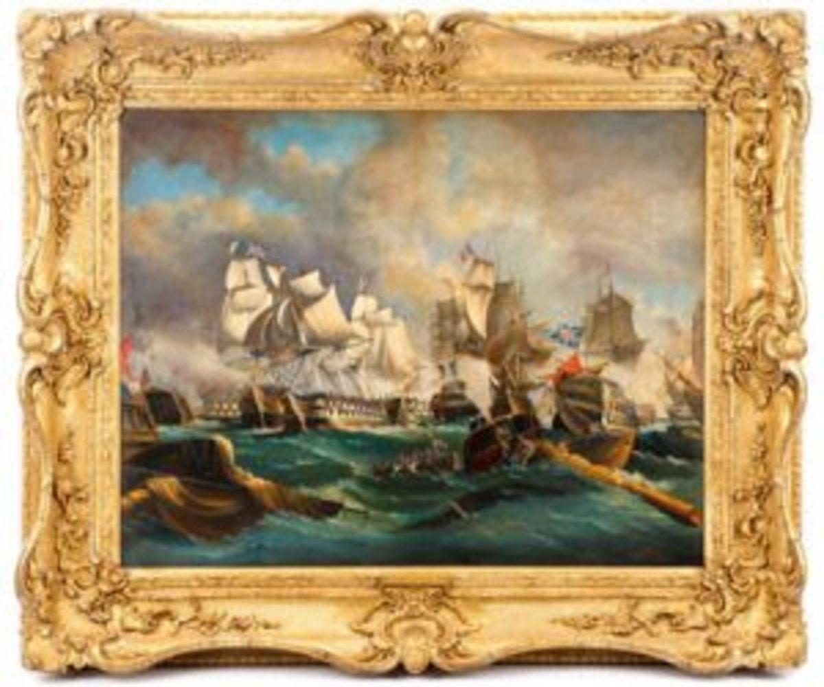 Painting of Napoleonic War