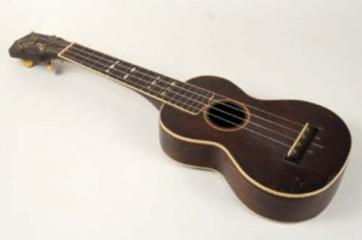 Gibson-style ukulele