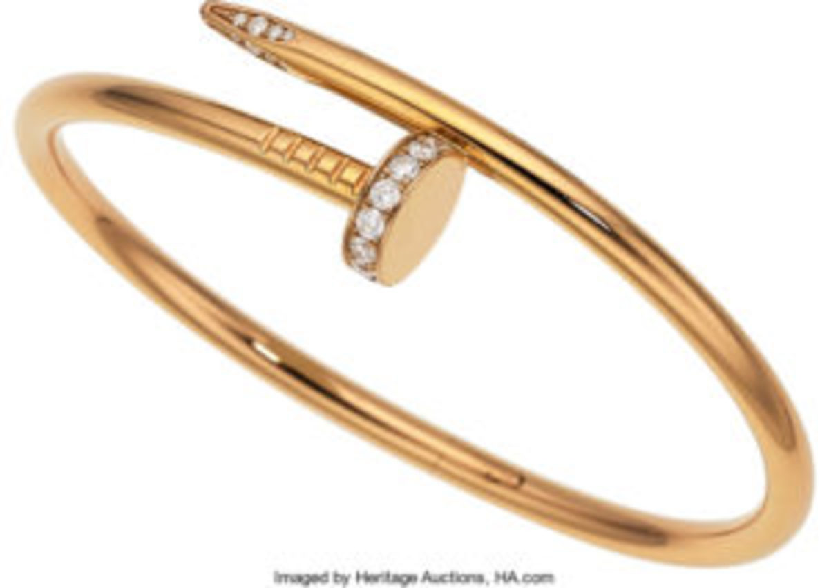 Cartier Diamond gold bracelet