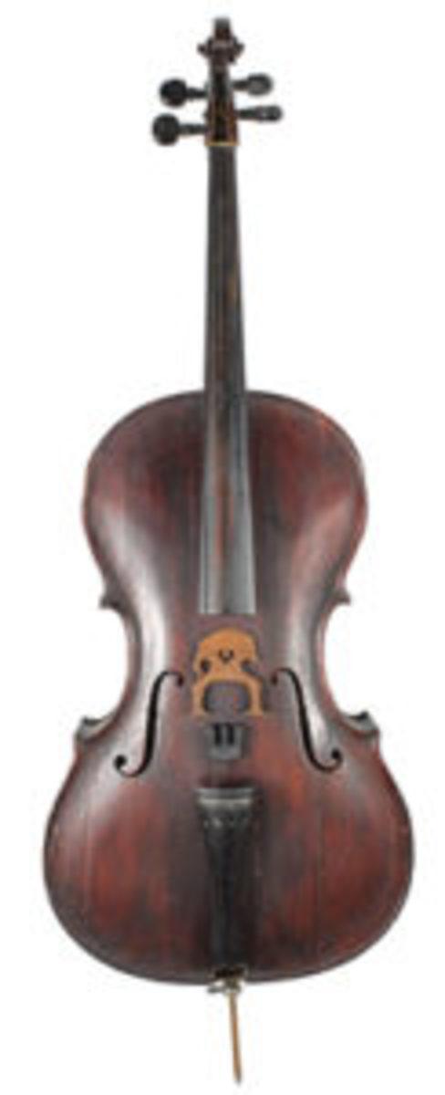 Antes maple cello
