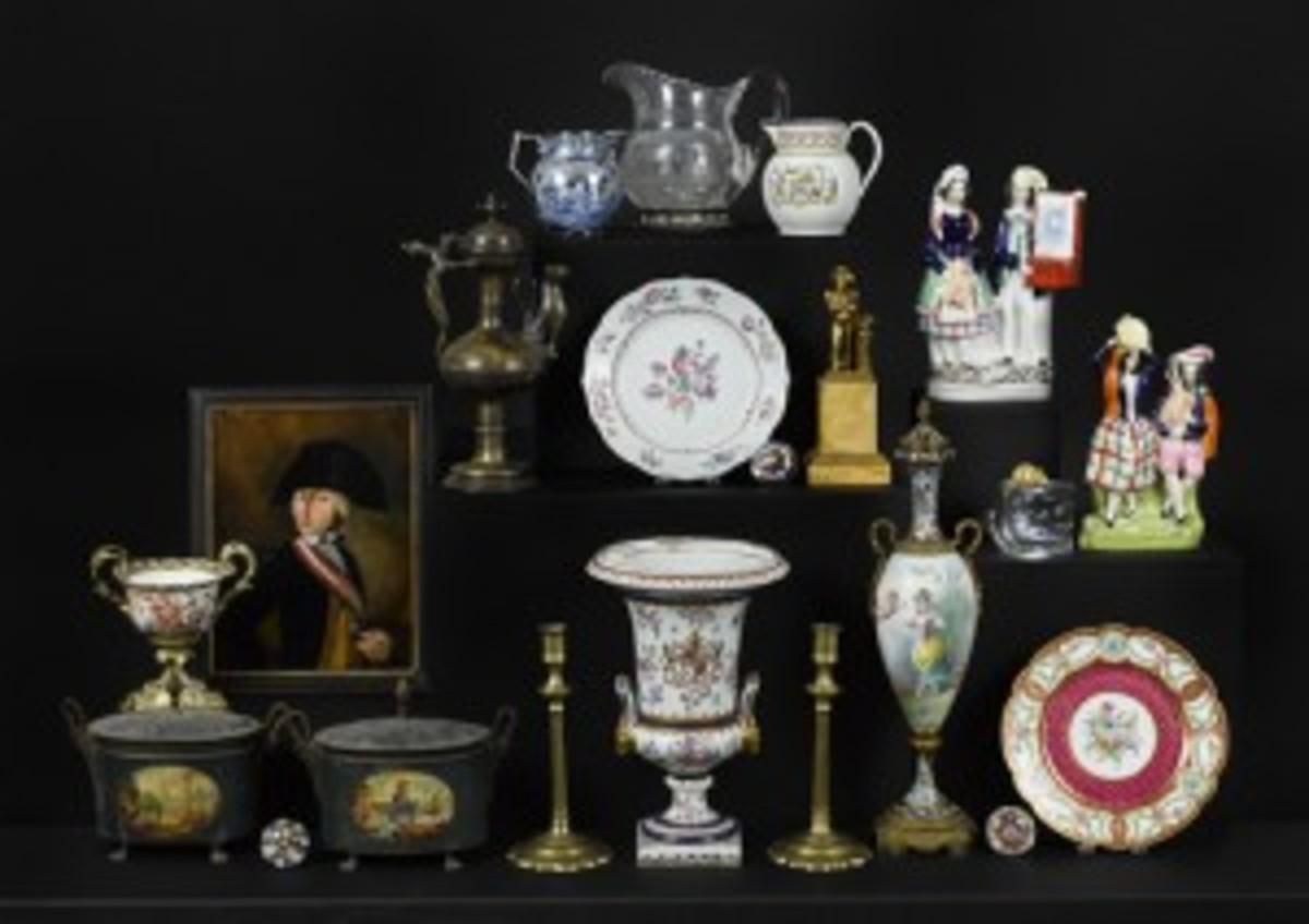 European ceramics and decorative