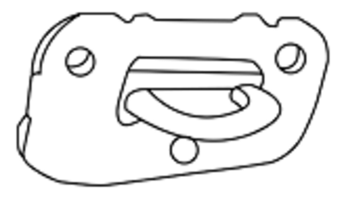 Rectangular Lane cedar chest lock