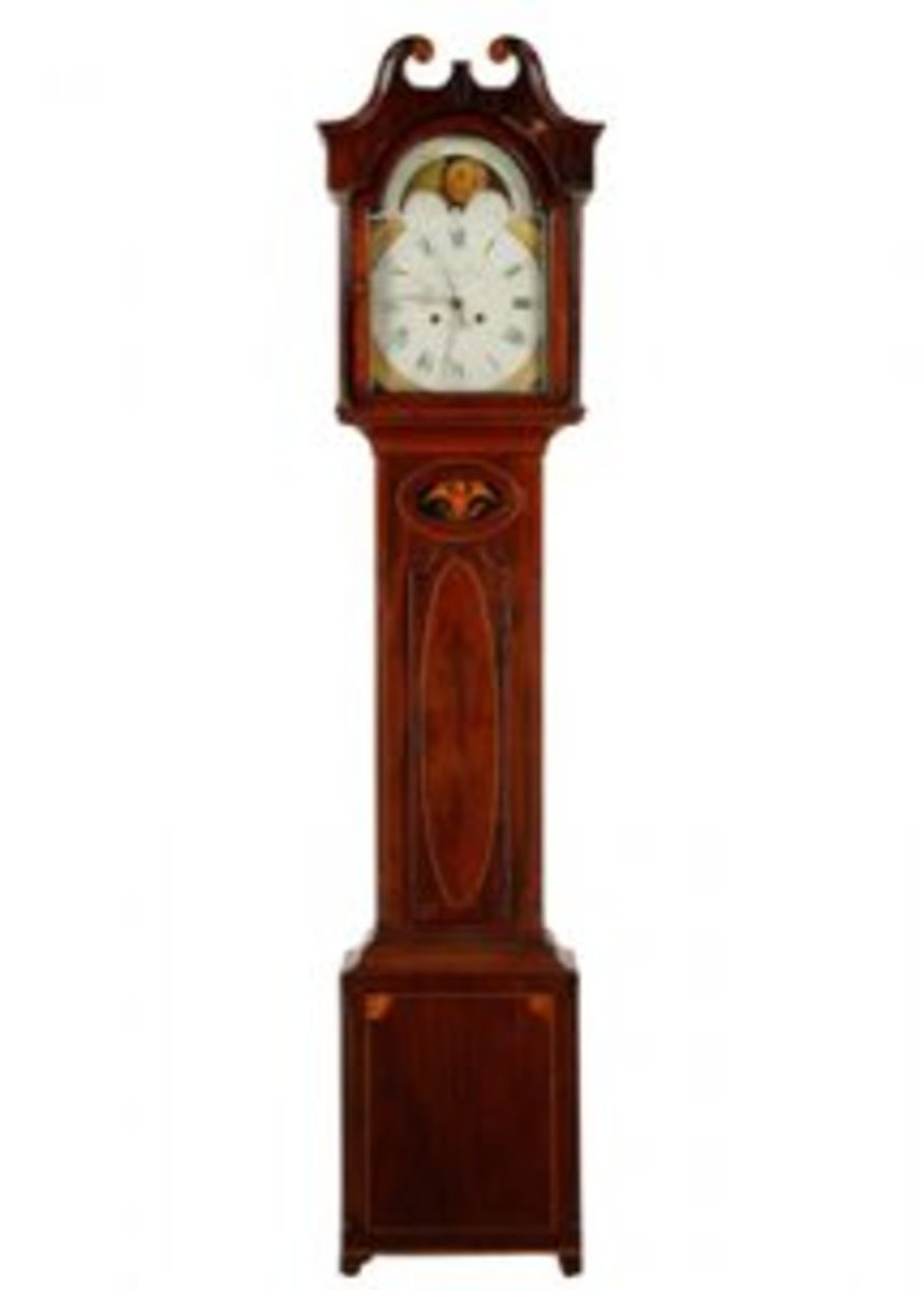 Jacob Eby tall-case clock