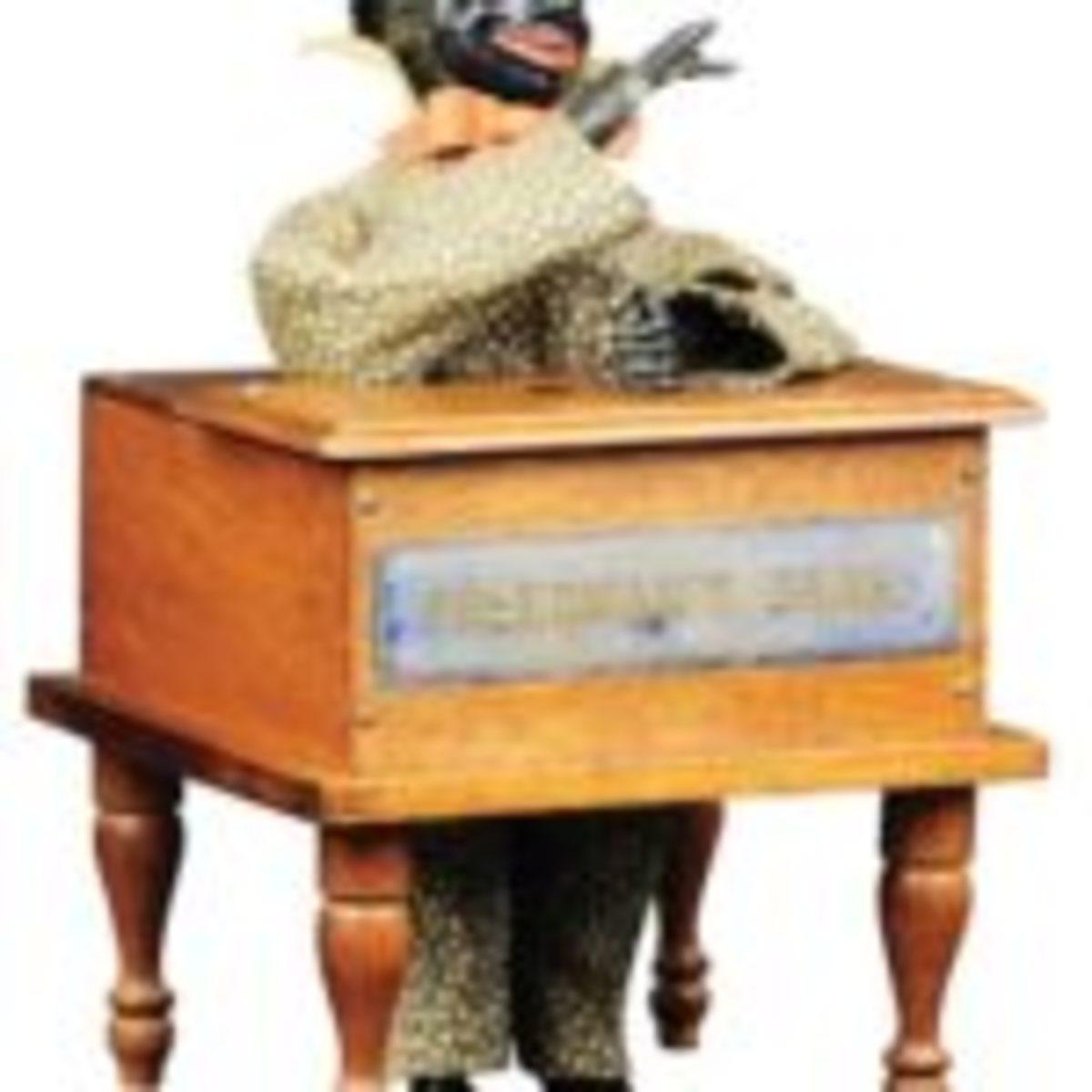Jerome B. Secor 'Freedman's' mechanical bank