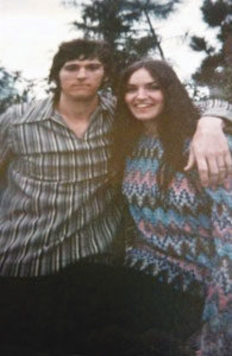 In the crush of 500,000 people at Woodstock, Kathy and Butch Dukes found each other. Image courtesy of Kathy and Butch Dukes