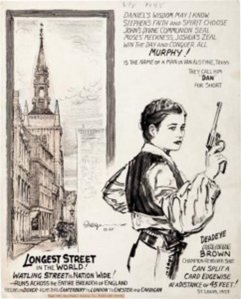 Original Ripley comic art '37