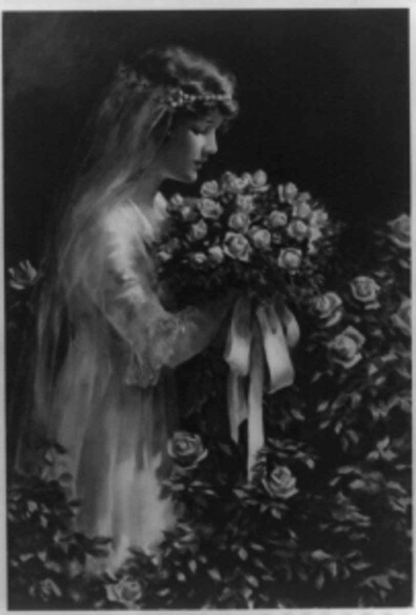 Fairest of flowers by Bessie Pease Gutmann