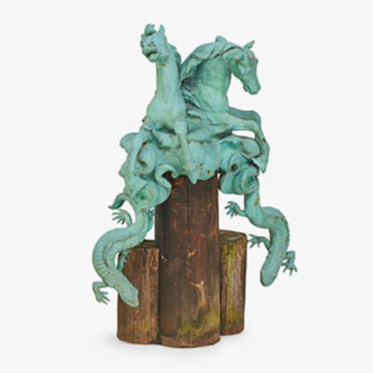 William Couper Top of Drinking Fountain for Horses;estimate: $10,000-$15,000.