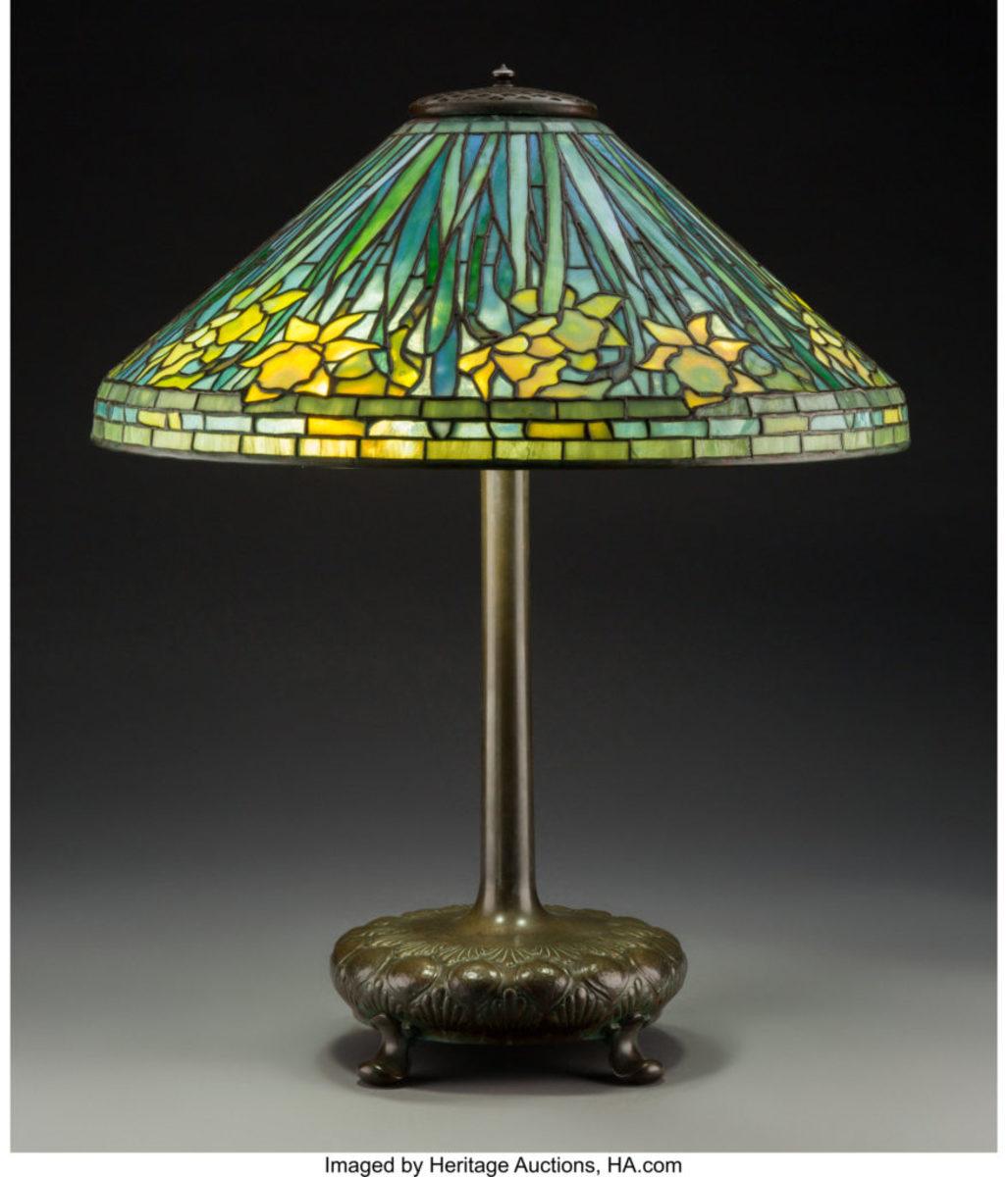 Tiffany Lamp Lights Up Heritage