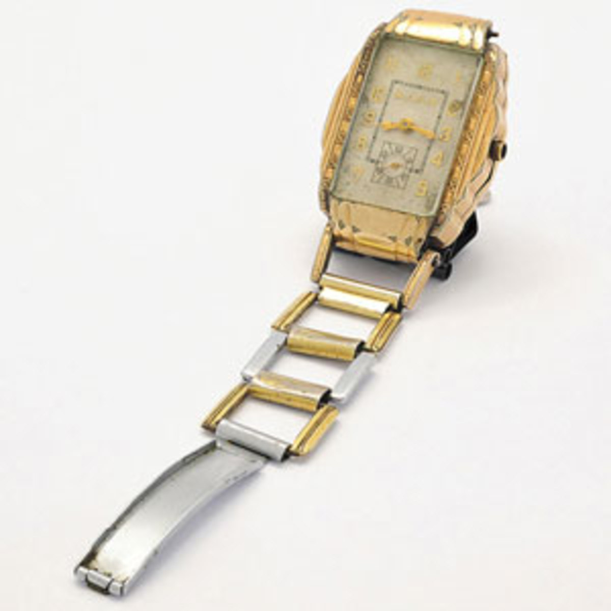 The top-selling item was this gold wristwatch, $112,500.