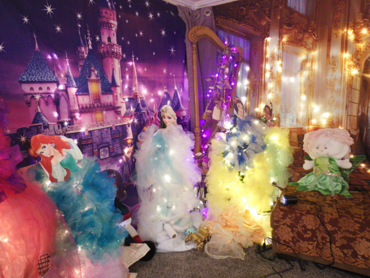 Some Disney princesses receive the royal treatment during the holidays from SherieLee Schnell.