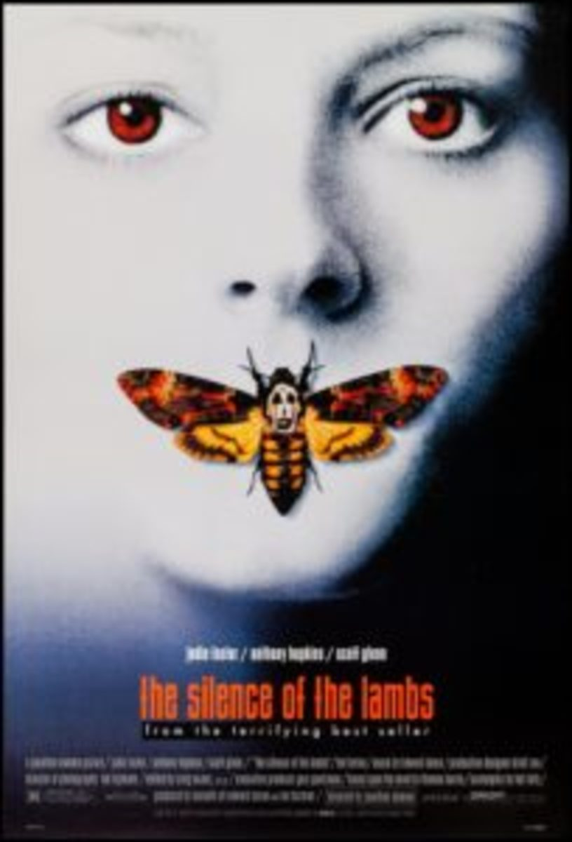 """The Silence of The Lambs (Orion, 1990): One Sheet (27"""" x 40""""), $168."""