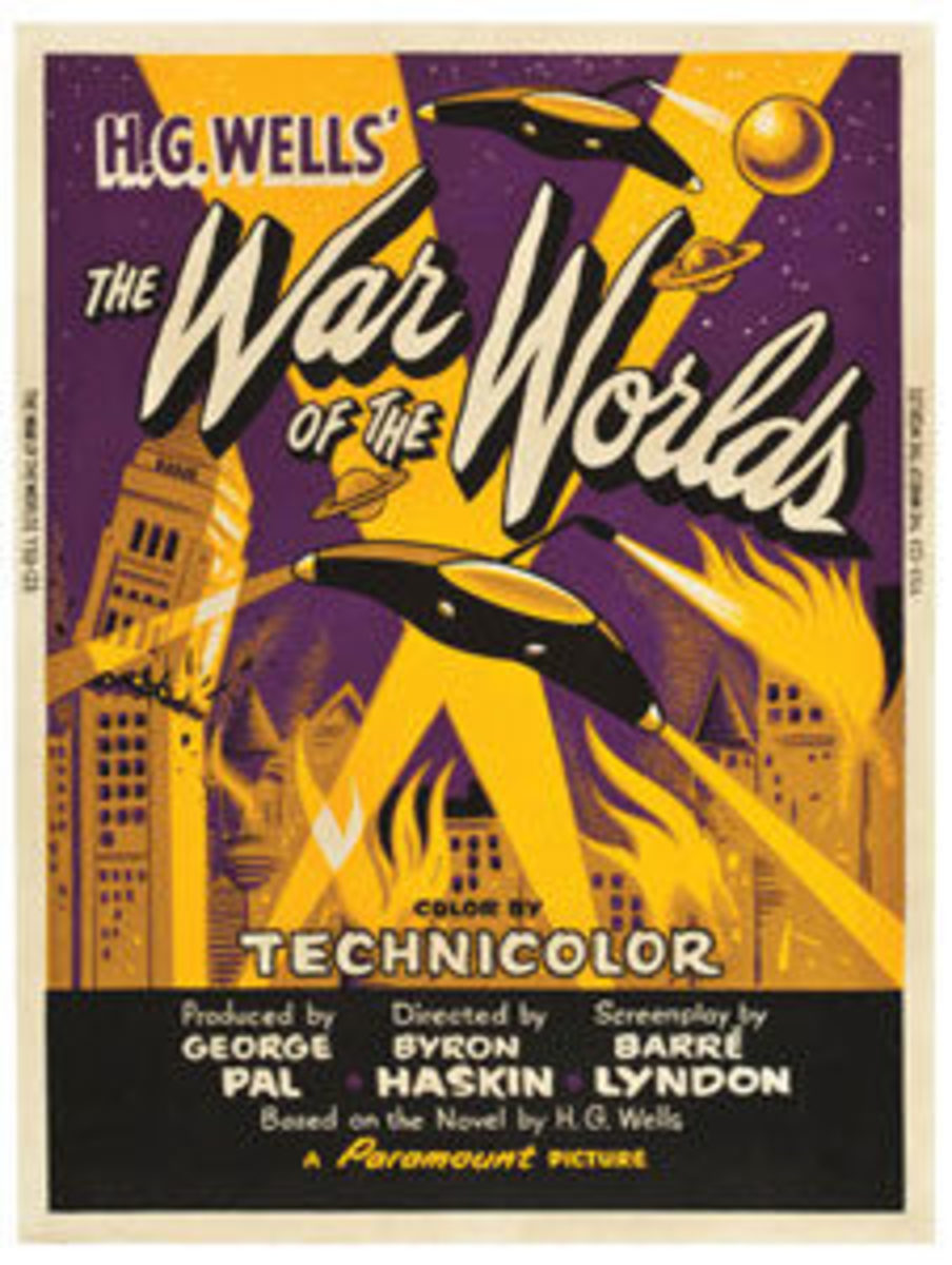 """War of The Worlds (Paramount, 1953): Poster (30"""" x 40""""), $11,950."""