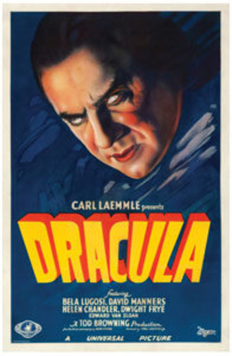 """Dracula (Universal, 1931): One Sheet (27"""" x 40""""), $525,800. Images courtesy of Heritage Auctions"""