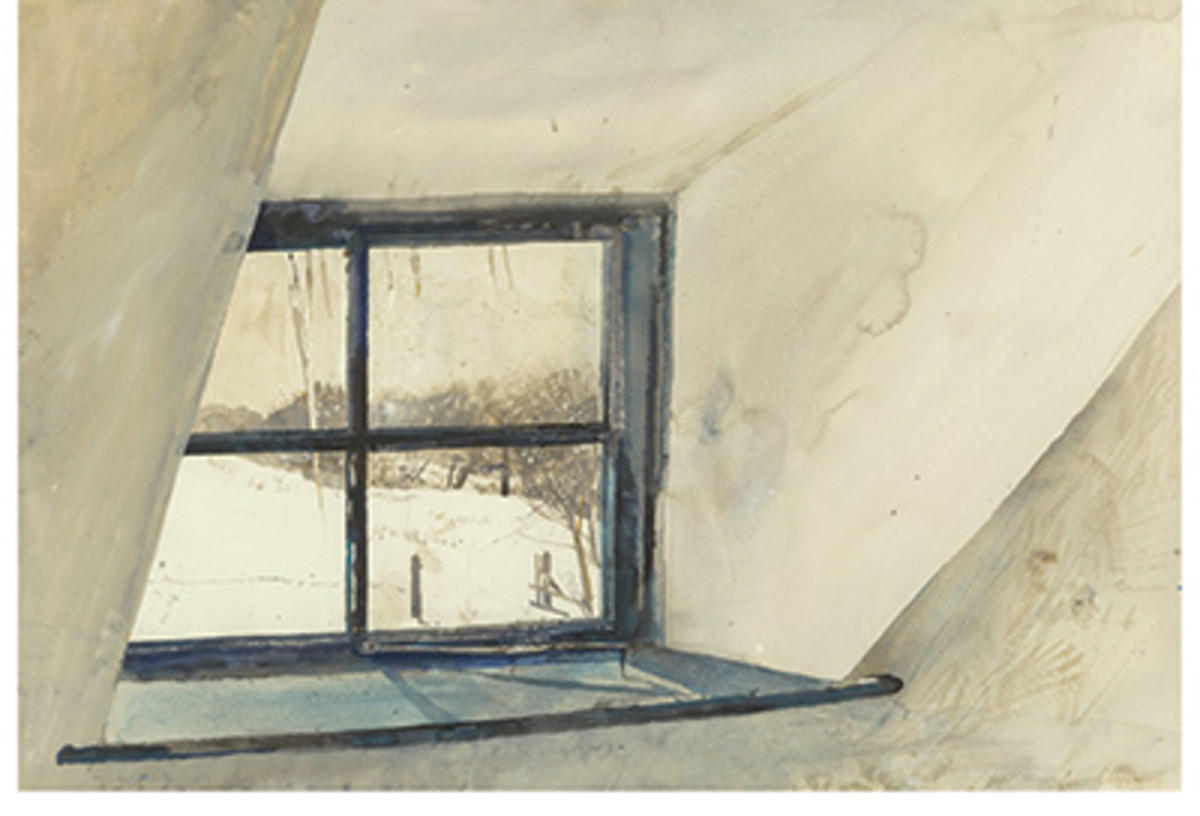 Andrew Newell Wyeth's Coldspell, 1965, also drew numerous bids before closing at $250,000.