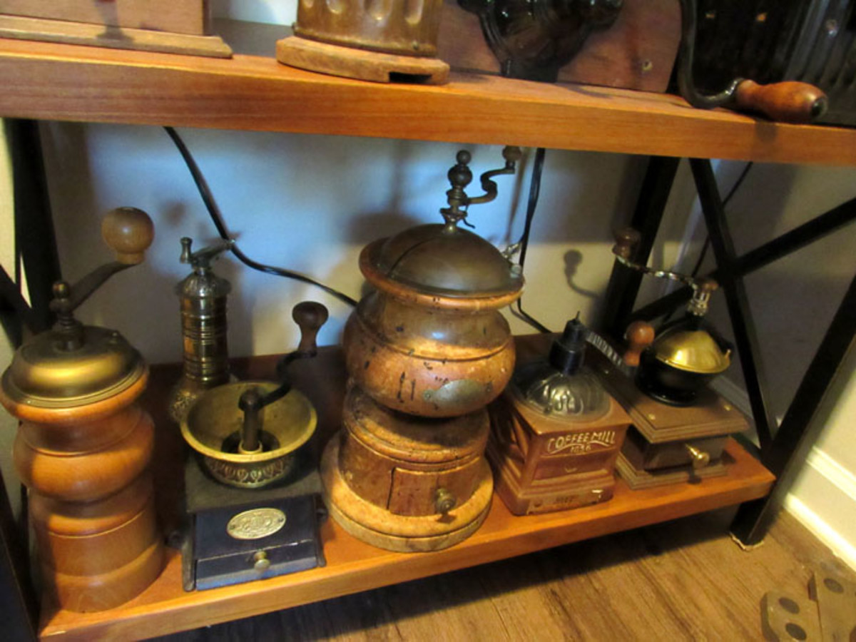 A variety of grinders from the U.S., Germany, Italy, France and Sweden.