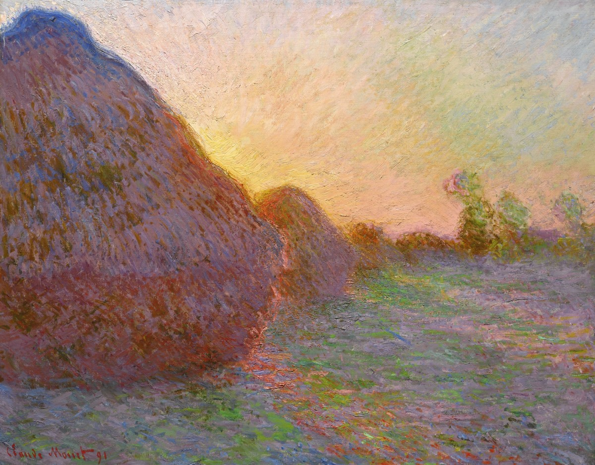 Monet's Meules sold for $110,747,000 at Sotheby's last year.
