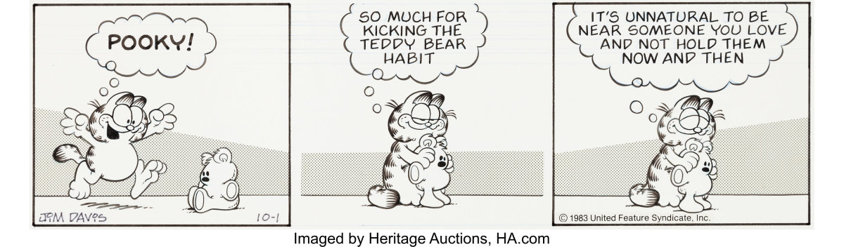 Cartoonist Jim Davis Selling Garfield Archive Antique Trader