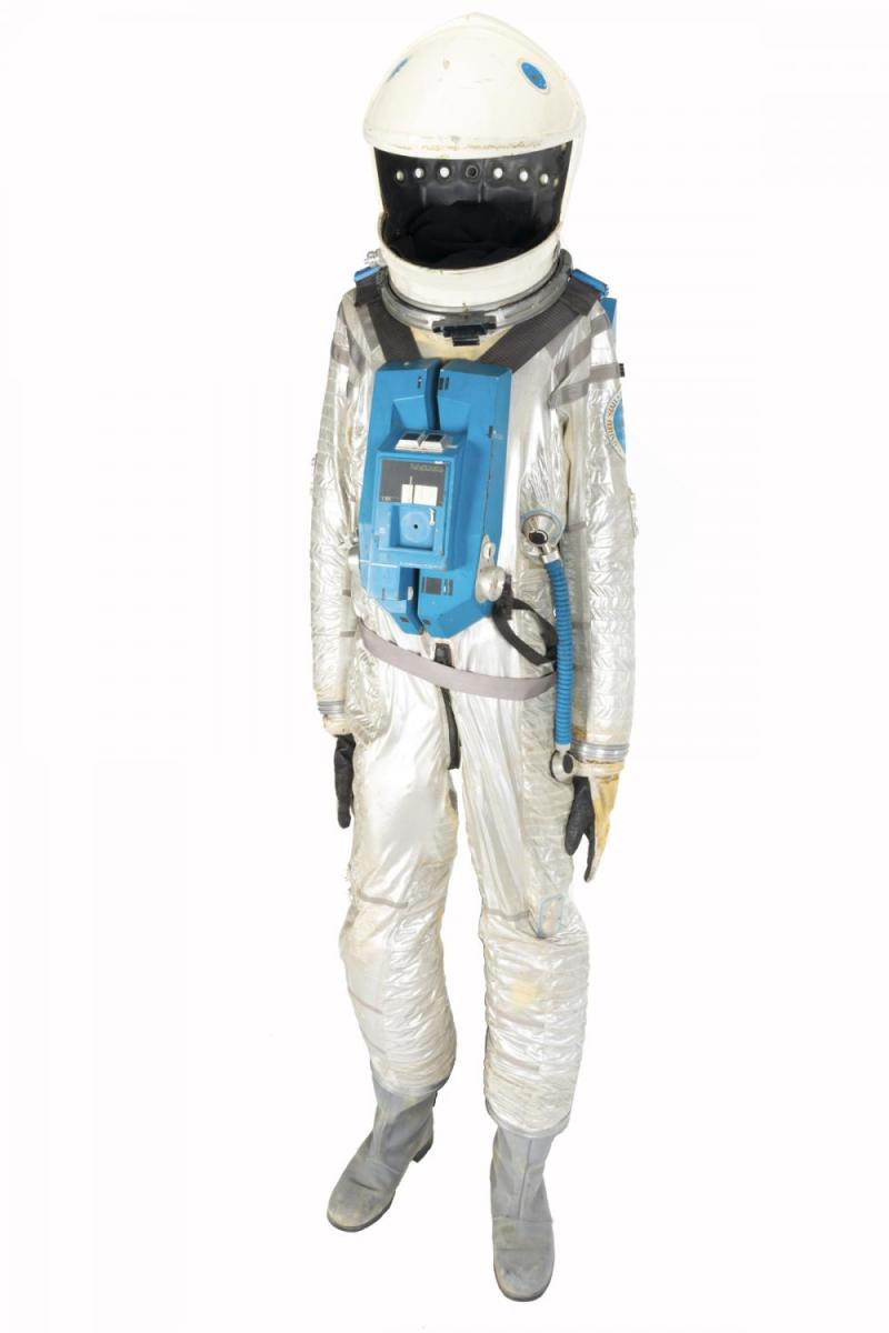 2001: A Space Odyssey space suit sold for $370,000.