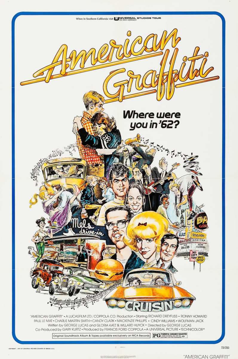 American Graffiti movie poster, 1973.