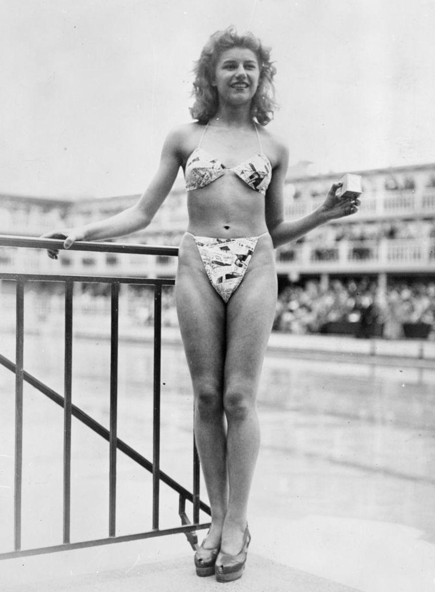 In brief, the bikini was a French thing.Oh là là!