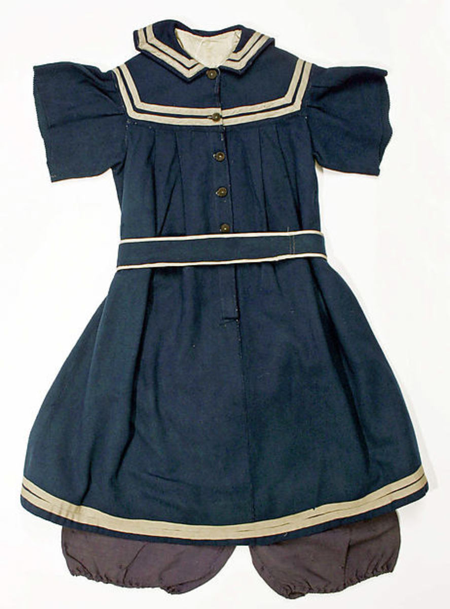 Late 1800s swimsuit