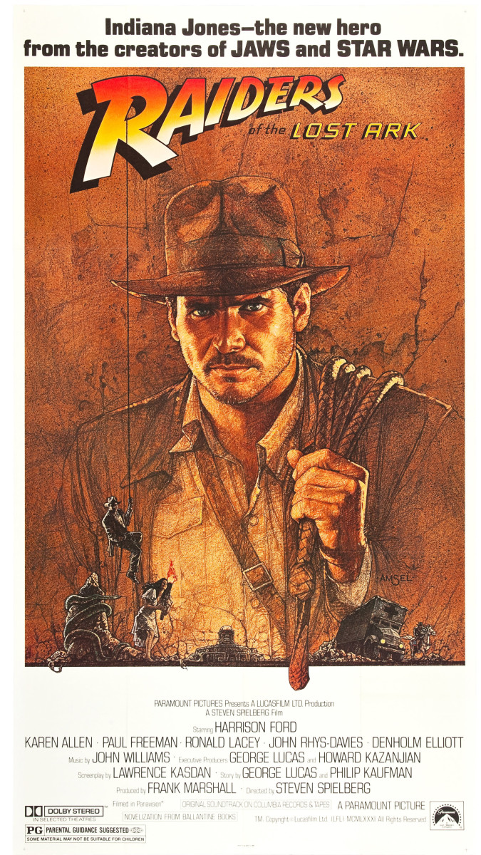 Raiders of the Lost Ark (1981) movie poster.