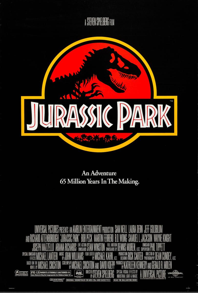 Jurassic Park (1993) movie poster