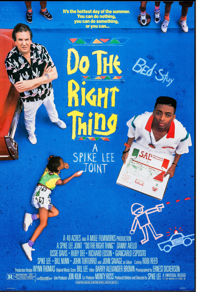 Do The Right Thing (1989) movie poster.