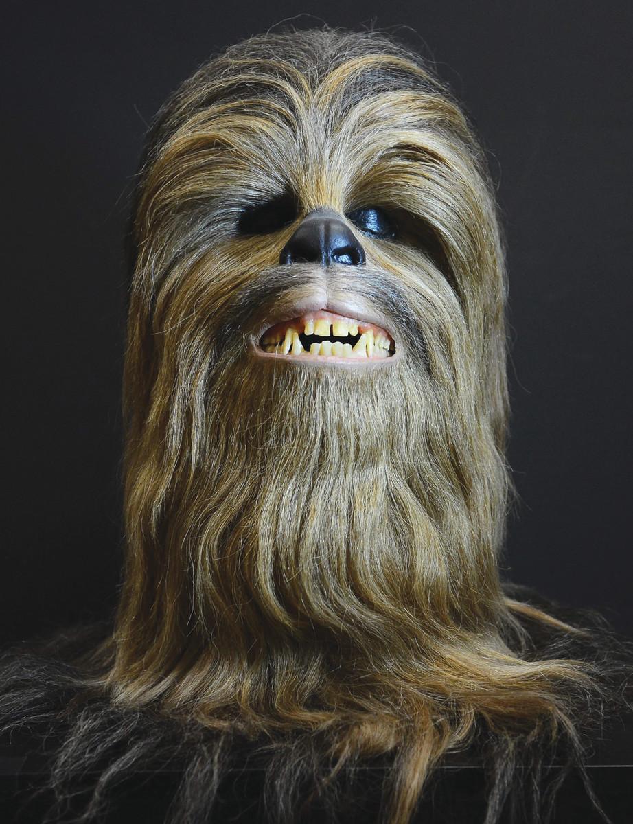 An original Chewbacca full costume headpiece.