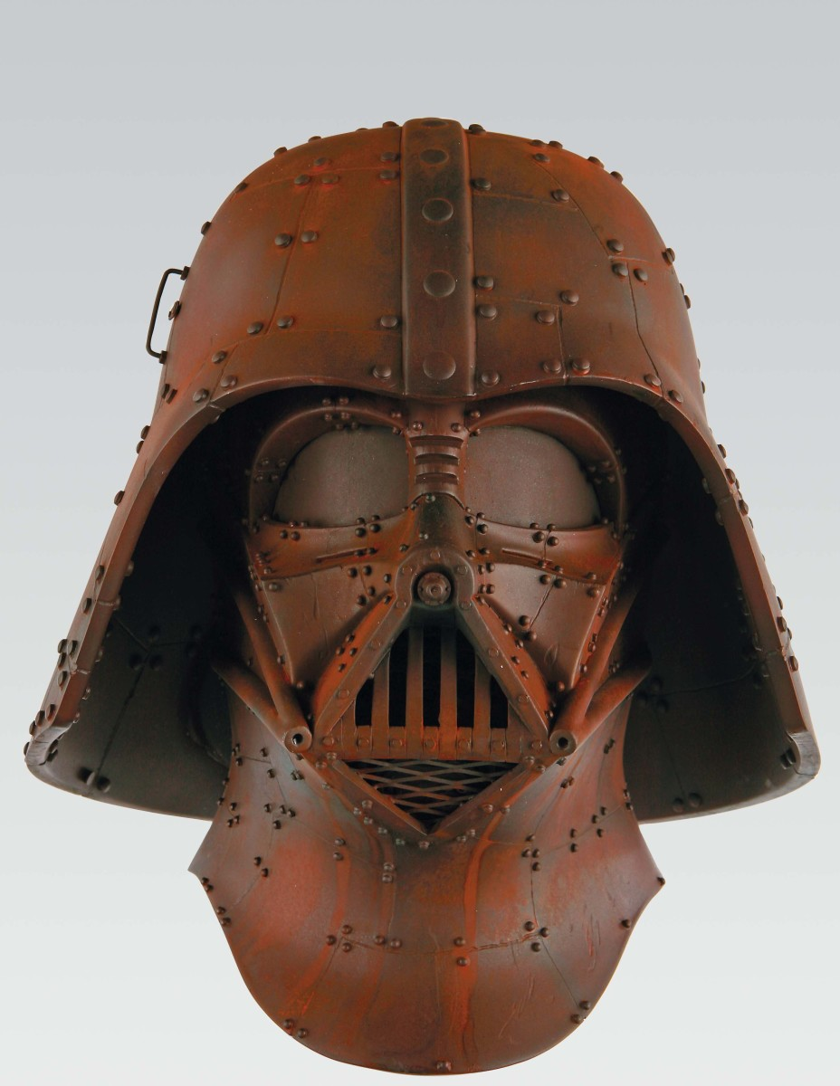 """""""Rust Vader"""" by Frank Kozik, part of The Vader Project."""